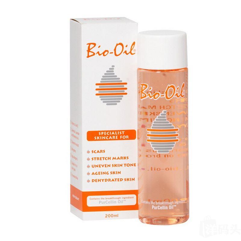 新西兰直邮 Bio-Oil百洛油去痘印去除妊辰纹200ml H