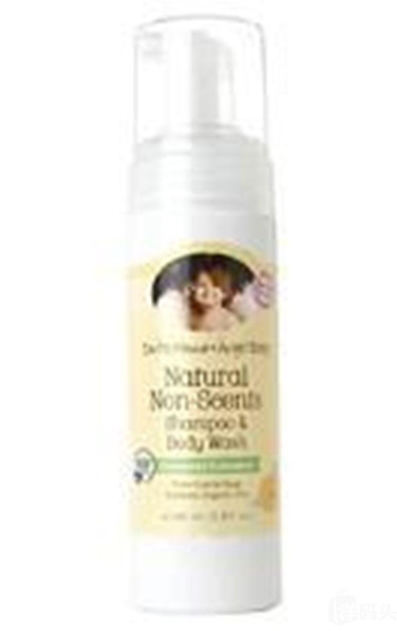 美国 地球妈妈Earth Mama天使宝宝 婴儿有机泡泡洗发沐浴露160ml