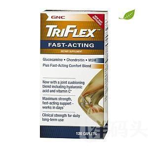 【美国直邮】美国GNC Triflex 速效型维骨力240粒 速效缓解关节炎