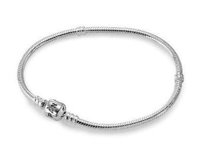 Pandora潘多拉 基础银手链Sterling Silver Pandora Clasp 590702