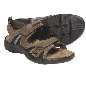 Clarks其乐优悦高端系列Un.Bridge男士真皮凉鞋/沙滩鞋