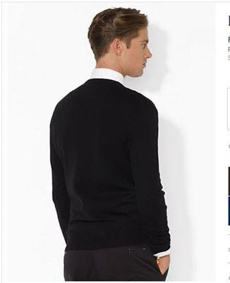 美国代购Polo by Rauph Lauren男式套头毛衣 马标100%Merino Wool