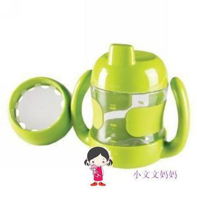 订单满200包邮OXO tot 婴幼儿鸭嘴杯 三合一训练杯套裝  绿色