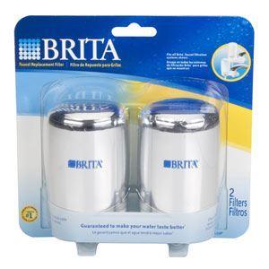 美国直邮*德国brita碧然德 家用水龙头净水系统专用滤芯 1个/2个装