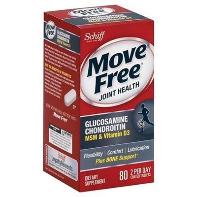 Schiff Move Free 维骨力MSM+VD 蓝瓶 80粒