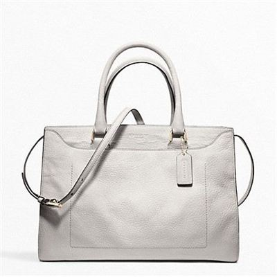 蔻驰 PINNACLE ELEVATED GOAT LEIGHTON FRAME CARRYALL_F23501