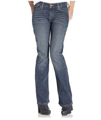 LEVIS 529 女式Curvy bootcut弹力牛仔裤