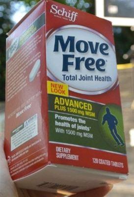 美国正品 Schiff Move Free PLUS MSM 维骨力120粒 2盒包邮
