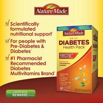 Nature Made Diabetes 糖尿病健康包 辅助降糖