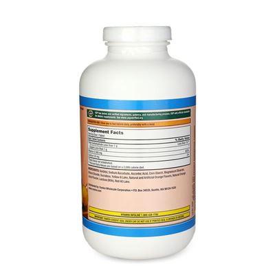 美国Kirkland柯可兰纯天然维生素C VC500mg 橙味咀嚼片500粒