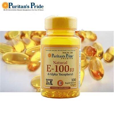 [5瓶到手价]260Puritan's Pride天然维生素E软胶囊
