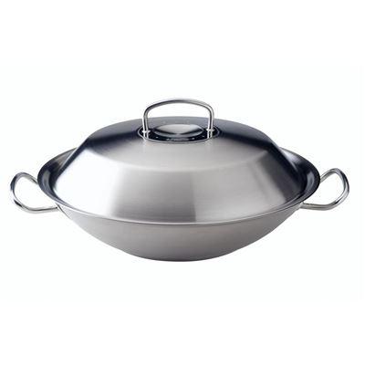 菲仕乐 original-profile 中式炒锅,带金属锅盖